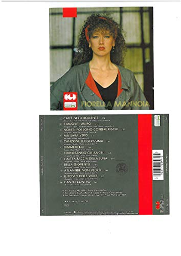 Fiorella Mannoia (1986 prima edizione - timbro siae)