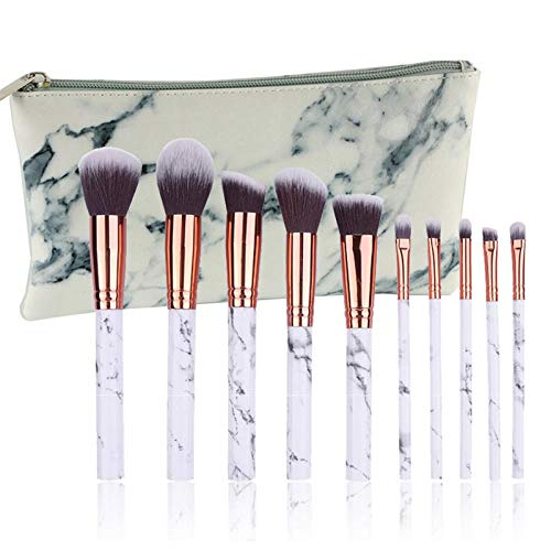 MEISINI Makeup Brushes Soft Foundation Powder Brush Eye Shadow Foundation Eyeliner Eyelash Lip Makeup Brush, Brush And Bag