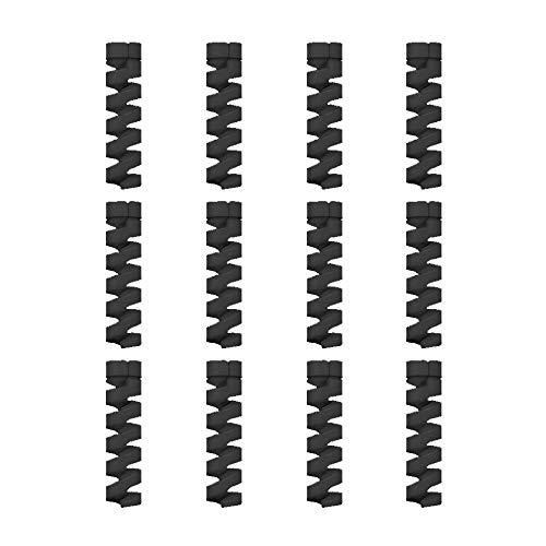 12 Unidades Protector de Cable Espiral - para Cables Lightni