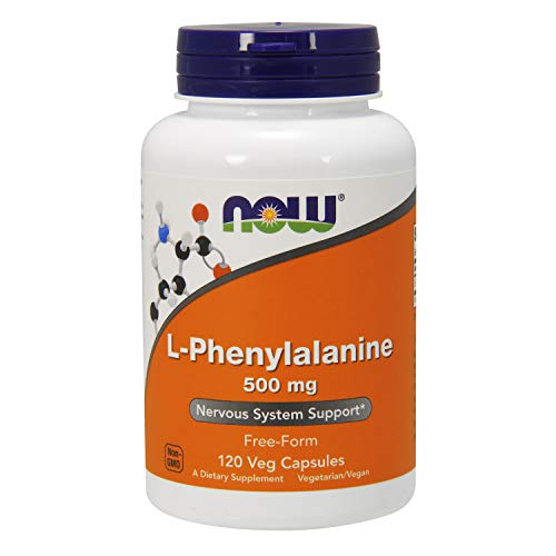 Now L-Phenylalanine 500 mg 120 vegane Kapseln glutenfrei