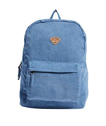 Billabong Women's School Out Cord Backpack, Deja Blue, ONE