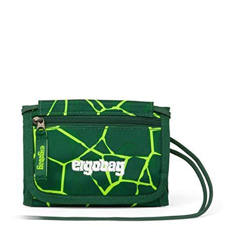 ergobag Brustbeutel - Kleingeldfach, Sichtfenster - BärRex - Grün