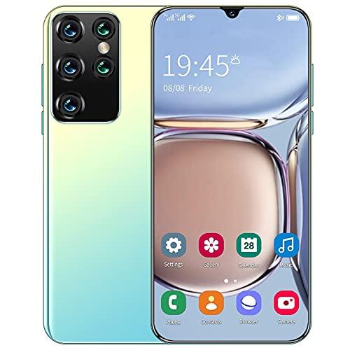 S21 Ultra 6.26 pollici Smartphone Face Unlock Schermo intero Android 8.0 1G RAM + 8G ROM (Bianco)