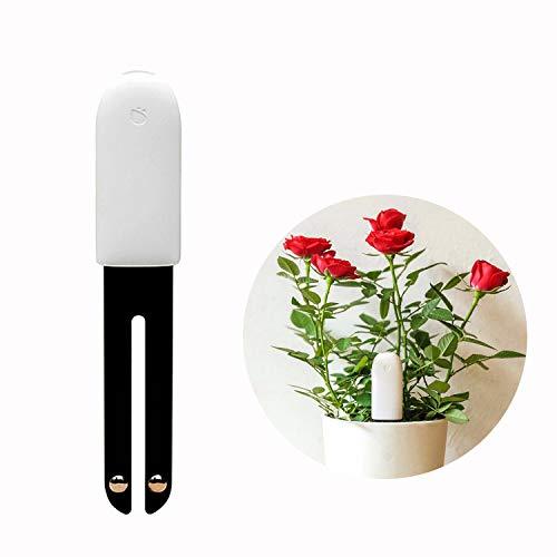 for HHCC Flora Pflanzen Clever 4 in 1 Smart Plant Luftfeuchtigkeit Helligkeit Dünger Temperatur,mit Bluetooth und App-Kontrolle