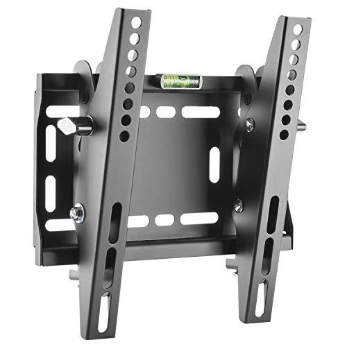 RICOO Flachbild-Fernseher TV Wand-Halterung Neigbar Flach (N2522) Universal Fernsehhalterung für 23-42 Zoll (bis 50-Kg, VESA 200x200) Curved LCD OLED QLED Bildschirm