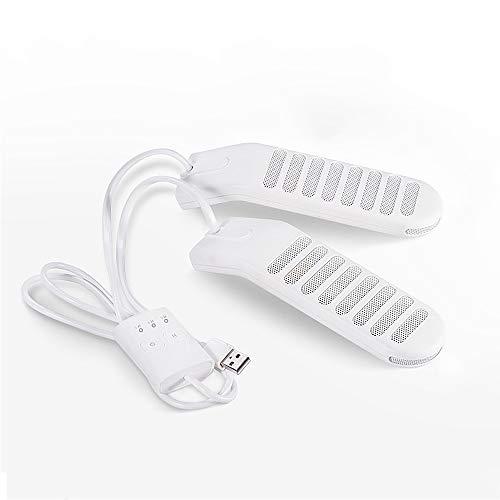 YGBH Sèche-Linge Chaussure électrique, Sèche-Glove avec Chauffage PTC USB alimenté Trois Temps réglable Calendrier pour Les Chaussures de l'école Voyage en Plein air vêtements secs