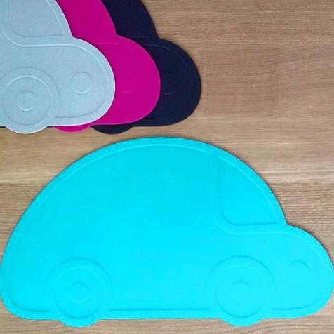 KG Design - Mantel individual, diseño de coche, color azul