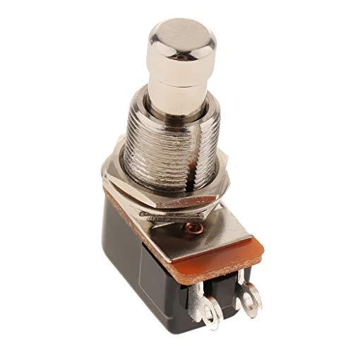 Instrumente Schalter Fußschalter Pedalschalter Druckschalter, aus Edelstahl, ca. 40 x 30 mm