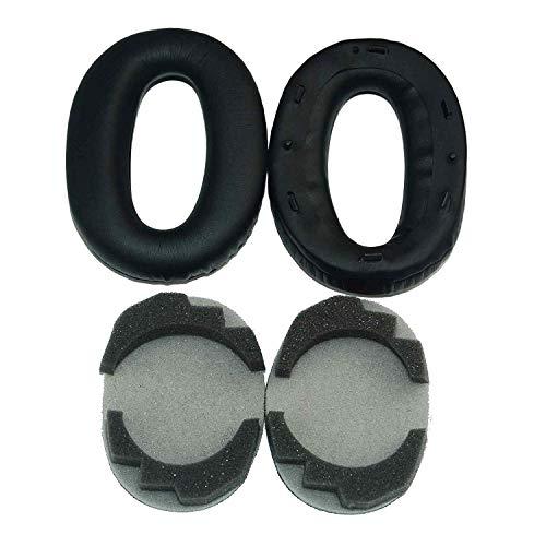 Ersatz-Ohrpolster für Sony Sony MDR 1000X WH-1000XM2 Kopfhörer (Schaumstoffpolster mit Clips)