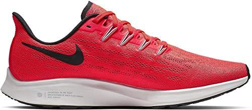 Nike Air Zoom Pegasus 36, Zapatillas de Atletismo Hombre, Multicolor (Bright Crimson/Black/Vast Grey 600), 42 EU