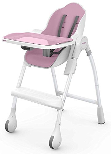 Seggiolone Pappa Oribel Cocoon – Confortevole e Stabile Rialzo Sedia Per Bambini – Portatile Alzasedia Bambini – High Baby Chair OR206-90010