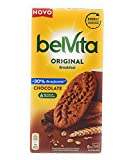 Belvita, Original Desayuno, Schokoladenkekse mit 30 % weniger Zucker und Schokolade, 6 x 50 g