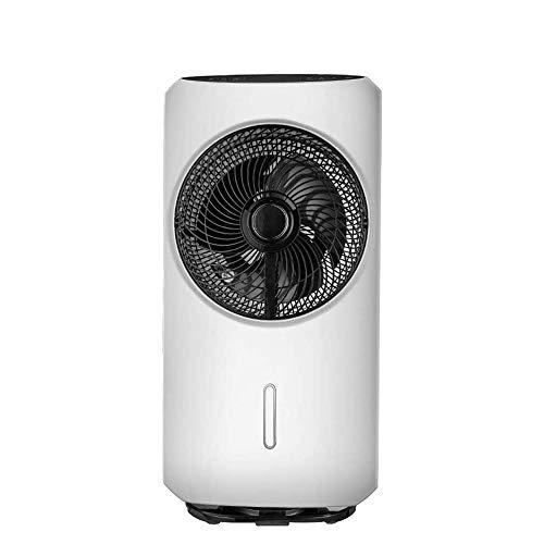 QIN Aire acondicionado portátil, silencioso piso del acondicionador de aire del ventilador, humidificación atomización y agua de refrigeración inteligente refrigeradores evaporativos espacio más frío,