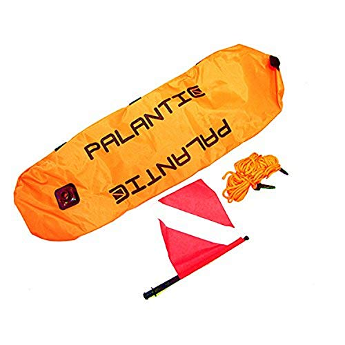 Scuba Choice Palantic Scuba Diving Spearfishing Nylon Torpedo Float with Dive Flag