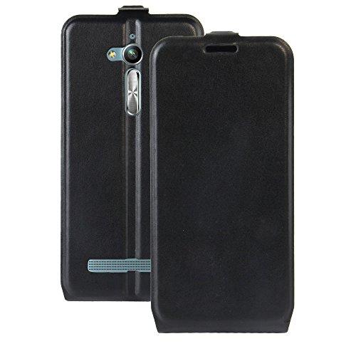 Oujiet-eu CN Hülle für ASUS ZENFONE GO ZB500KL X00AD hülle Flip Leder + TPU Silikon Fixierh Schutzhülle Case 6