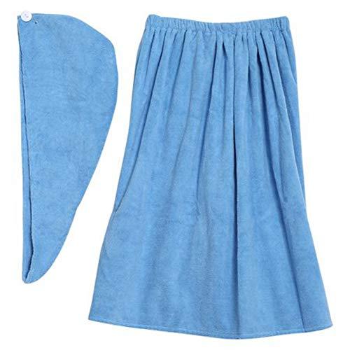 Serviette de bain, serviette de douche en microfibre, crochet et serviette pour spa, pour enveloppe de spa, enveloppe de bain, lavable en machine(Ligh