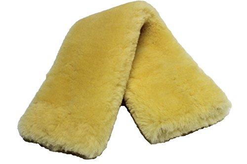 Förster-Fellnest Echt Lammfell Gurtschoner, Bauchgurtschoner, rundum echtes Fell für Ihren Sattelgurt in vielen Längen bei einem Durchlass von 12 cm