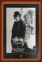 ポスター ステューシー ステューシー20th Anniversary プリント11 額装品 ウッドハイグレードフレーム(ナチュラル)