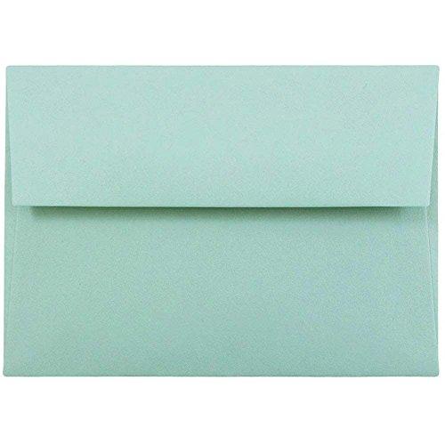 (ジャムペーパー) JAM Paper 封筒 - アクア A1 / 4bar