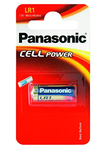 Panasonic Lr1 Micropila Alcalina, Blister 1, Rosso/Oro