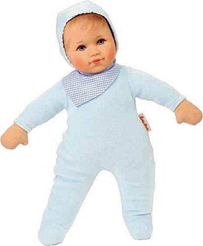 Käthe Kruse 26503 - Puppe Valentin, hellblau