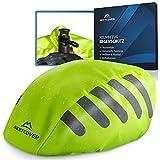 Nextcover® Funda universal para casco de bicicleta, protección contra la lluvia, 100 % resistente al viento y al agua, reflectante, apta para todos los cascos, funda para casco