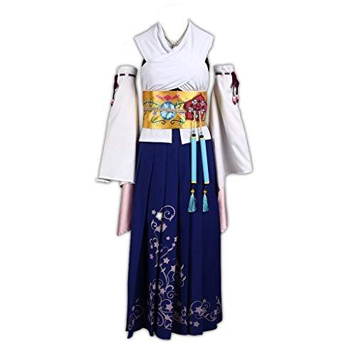 Dream2Reality Final Fantasy X Yuna Cosplay Costume 1st Ver Medium