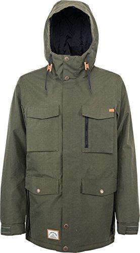L1 Outerwear Nitro Sutton Military Herren Snowboard Jacke, Grün, M