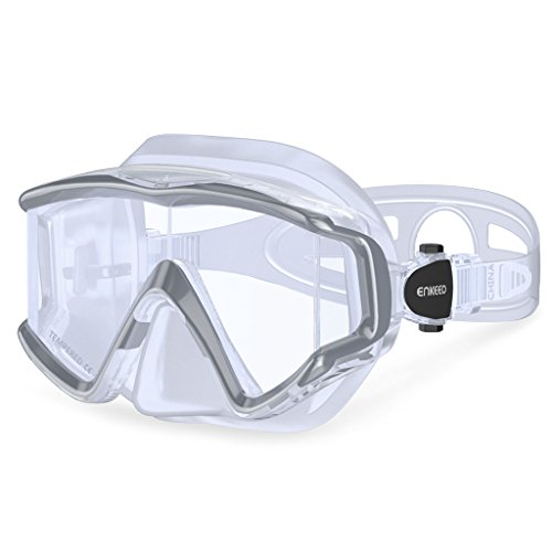 ENKEEO Dive Mask Wide 180 Degree Vision
