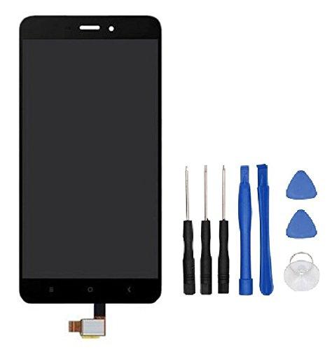 Theoutlettablet® Pantalla LCD Completa capacitiva con tactil digitalizador para Smartphone Xiaomi Redmi Note 4 (No válido para la versión Global Ni para Note 4X) + Herramientas - Color Negro