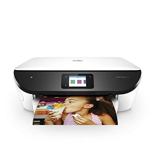 HP ENVY Photo 7155 All-in-One Photo Printer with Wireless Printing, Instant Ink ready - White (K7G93A#742)
