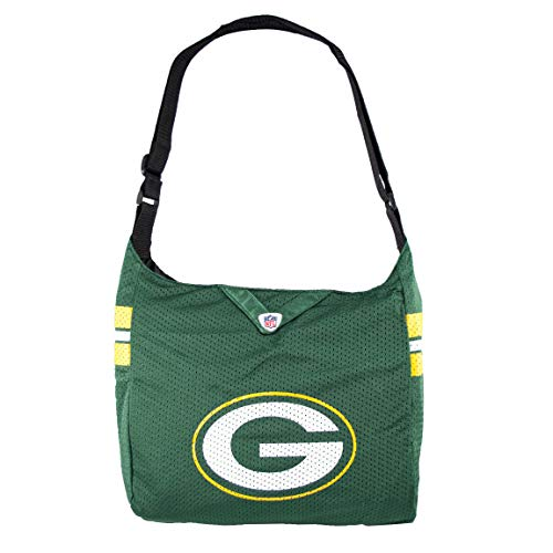 """Littlearth womens NFL Green Bay Packers Jersey Tote , 15"""" H x 14"""" W x 4"""" D"""