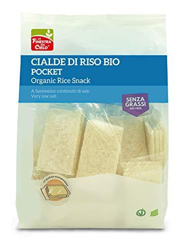 La Finestra Sul Cielo Rice Snack Cialde di Riso S/Sale Monoporz Bio - 250 g