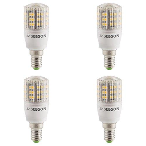 SEBSON® 4er-Pack E14 LED 3W Lampe - vgl. 25W Glühlampe - 240 Lumen - E14 LED warmweiß - LED Leuchtmittel 160°