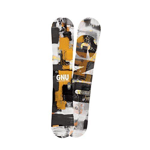 GNU Carbon Credit Snowboard Mens Sz 153cm by Gnu