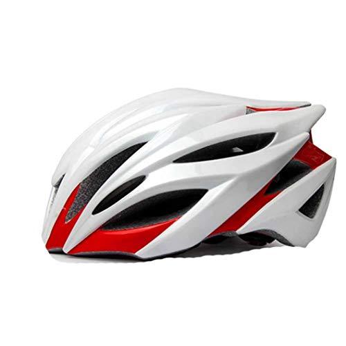 Sommer Erwachsene Männer und Frauen Atmungsaktiver Fahrradhelm Unisex Größe Verstellbarer Fahrradhelm Innenschuh Abnehmbarer Fahrradhelm