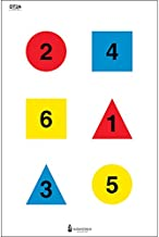 Discretionary Command Training Target (Version 2-A) used for command training Red, Yellow, Blue & Black Size: 23