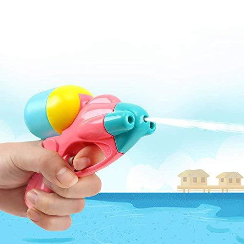 FFSM Pistola de Juguete Mini 2pc del Agua, Fiesta de los niños interactivos al Aire Libre Juegos de Playa Puntales, Portátil Squirt Pistola de Agua Juguetes for niños Regalo de cumpleaños plm46