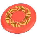 Flying Disc Mini Flying Saucer para Niños Al Aire Libre Girar En Juegos De Captura Discos Voladores(Red)