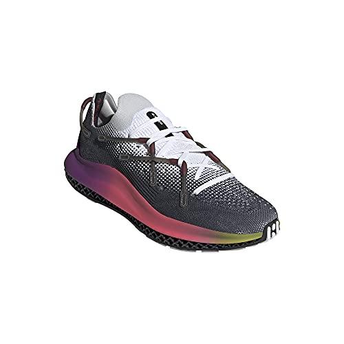 adidas Men's Shoes 4D Fusion Cloud White/Ultra Purple/core Black Size 44