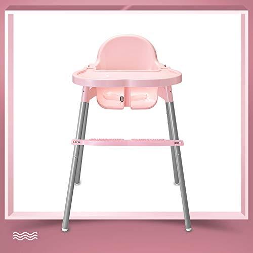 ZCFXGHH Instelbare eetkamerstoel voor baby's, multifunctionele kinderstoel, klaptafel voor kinderen