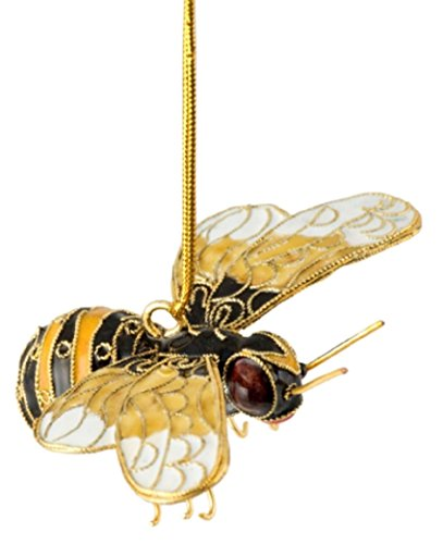 Bee Hanging Ornament 3.5 Inches