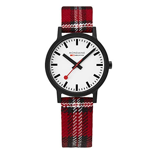 Mondaine Essence, Nachhaltige Uhr Für Damen und Herren, MS1.41111.LC, 41 MM.