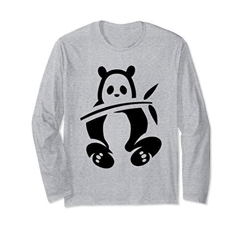 Simpatico regalo per bambini in costume da orso panda di Maglia a Manica