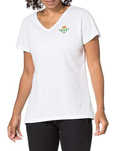 Kappa Motif Coeur Betis Camiseta, Mujer, Blanco, 2XL