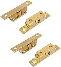 DealMux 50mm/1.96 inch massief messing meubelkast kast dual bal spanning roller vangst klink Pack van 4