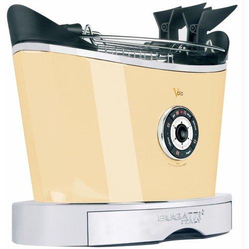 Casa Bugatti Toster 13-VOLOC, roestvrij staal, crème