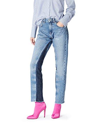 find. BAY001011W170205 jeans donna, Blu, W30/L32 (Taglia Produttore: Medium)