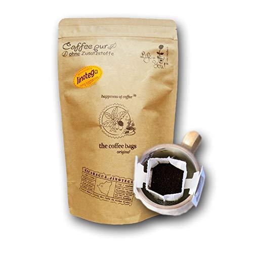 Life is You! Coffee Bags | Jinotega Kaffee aus NICARAGUA, hand geerntet | 15 Coffee Bags ( für Becher ) | in einer verschließbaren Zipptüte - frisch handgerösteter Filterkaffee in Premium Qualität