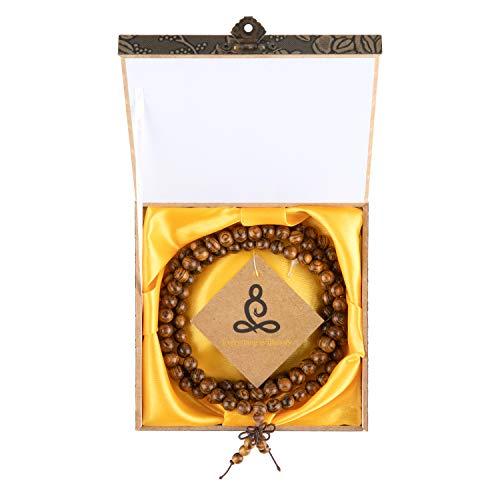 JBS Lucky Sandalwood handstring 108 Buddha Beads 8mm Popular Fashion Accessories for Men and Women